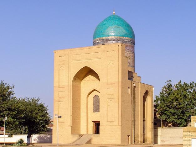 Mausoléu de bibi-khanym. um famoso sítio histórico em samarcanda, uzbequistão
