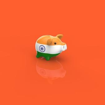 Mealheiro - ilustração 3d