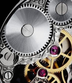 Mecanismo de um relógio de luxo
