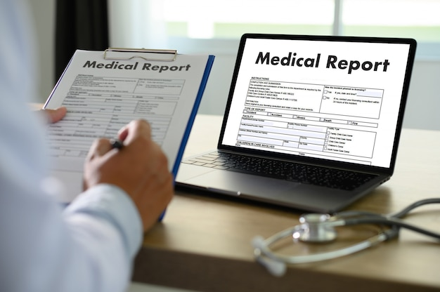 Medical records patient information tecnologia médica