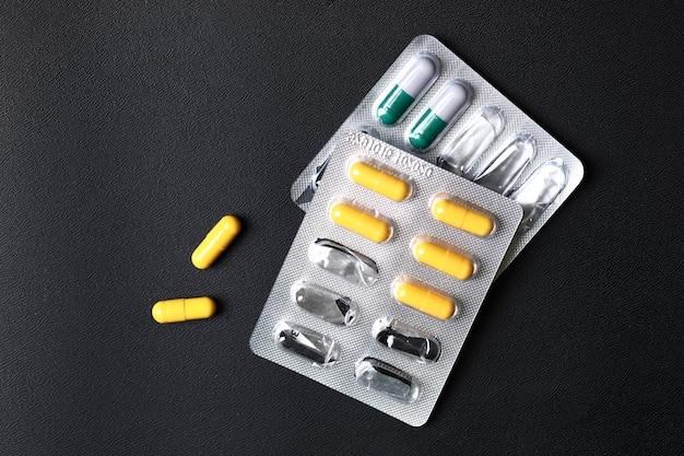 Medicamentos coloridos