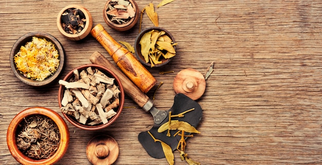 Medicina de ervas naturais