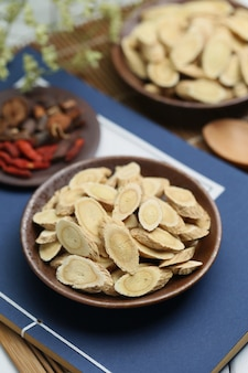 Medicina tradicional chinesa astragalus membranaceus