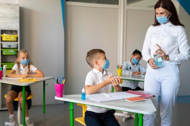 Medidas de prevenção de volta às aulas