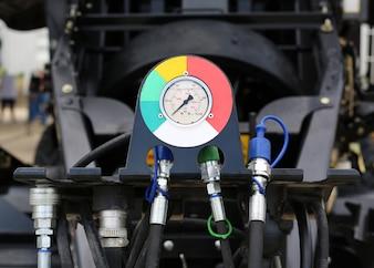 Medidor de pressão industrial