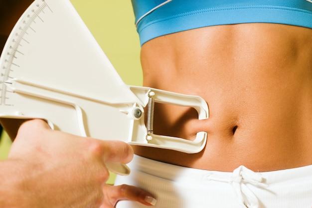 Medindo a gordura corporal