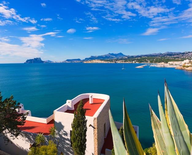 Mediterrâneo casas em moraira teulada em alicante