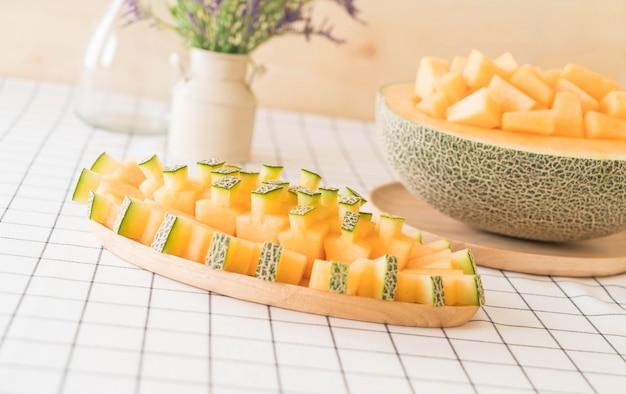 Melão de melão fresco