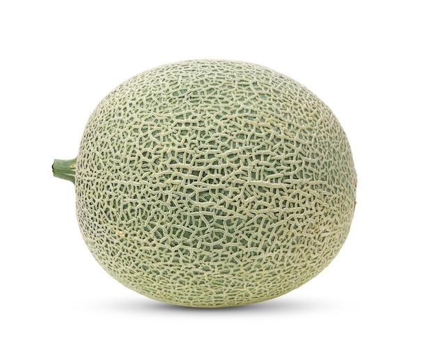 Melão melão isolado na superfície branca