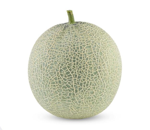 Melão melão isolado no branco