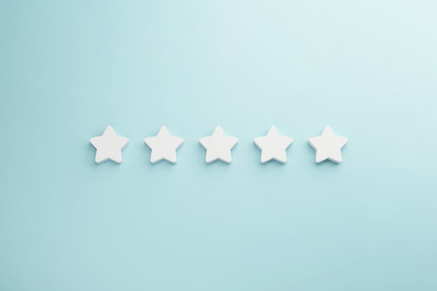 Melhor classificação de serviços excelentes para satisfação.