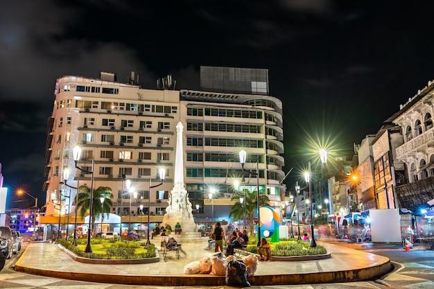 Memorial à tragédia de el polvorin na plaza 5 de mayo, na cidade do panamá
