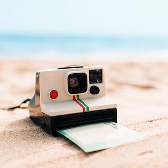 Memórias de verão na praia