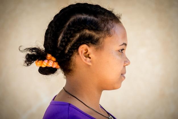 Menina africana