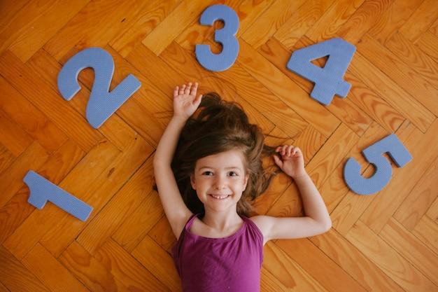Menina de 5 anos