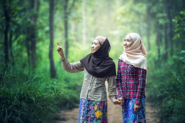 Menina em hijab