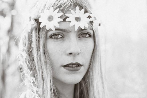 Menina hippie - estilo 1970