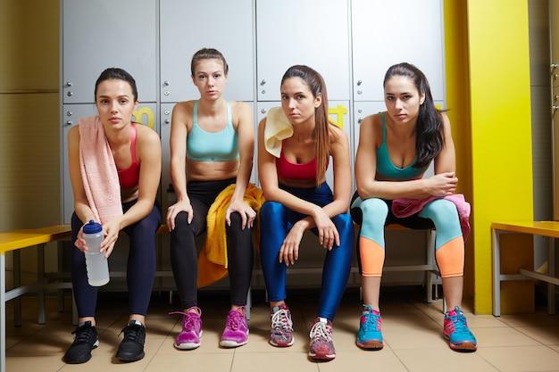 Meninas desportivas