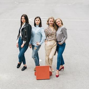 Meninas moda estilo