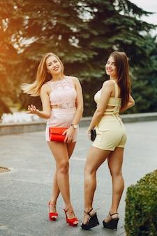 Meninas na moda
