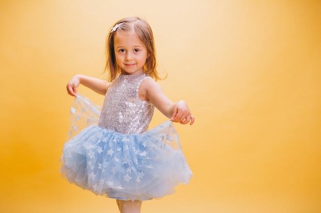 Menininha, em, cute, vestido