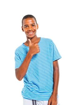 Menino adolescente
