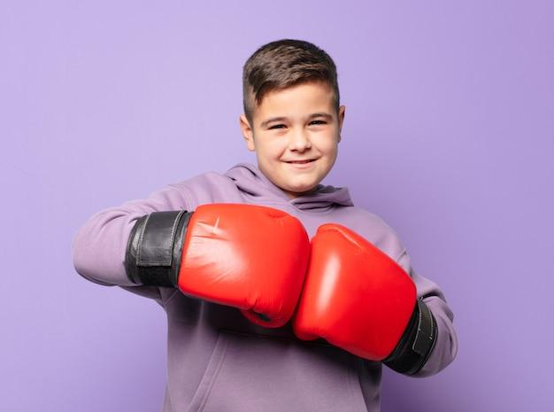 Menino boxe