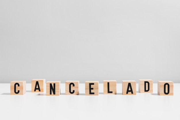 Mensagem cancelada
