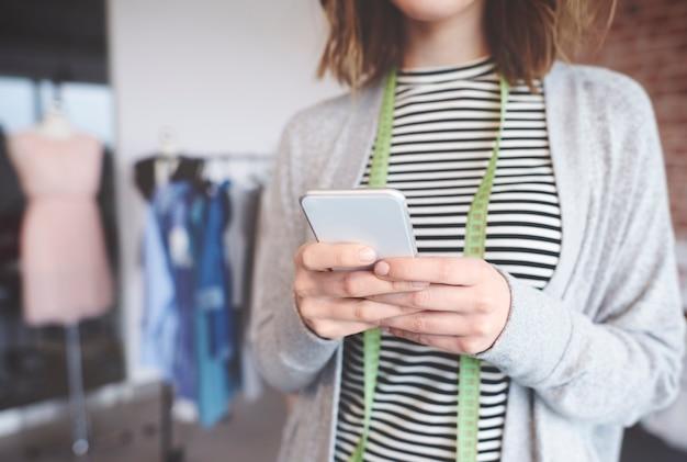 Mensagens de texto para proprietários de pequenas empresas