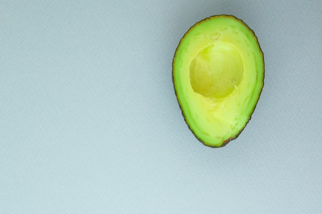Menu superior de abacate. comida . copyspace