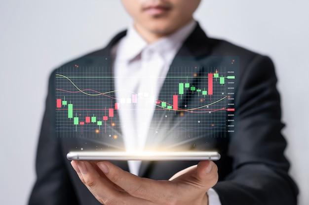 Mercado de ações ou negociação forex com ideias de investimento em criptomoedas