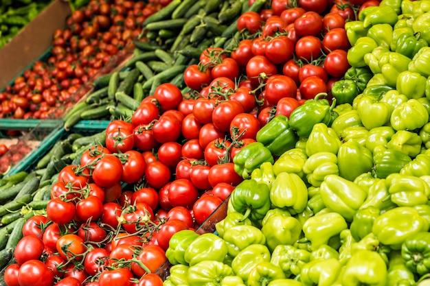 Mercado de vegetais