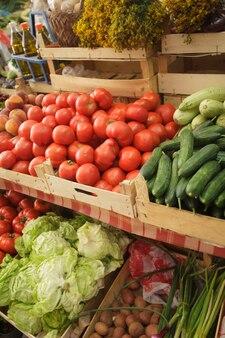Mercado de verão