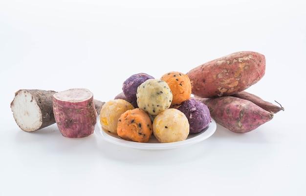 Merenda de bolas de batata
