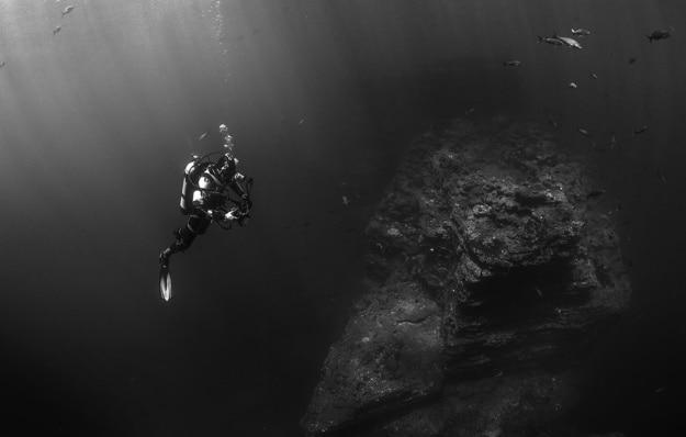 Mergulho no escuro