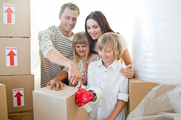 Merry family caixas de embalagem