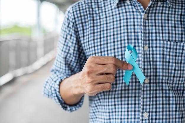 Mês da conscientização do câncer de próstata em novembro