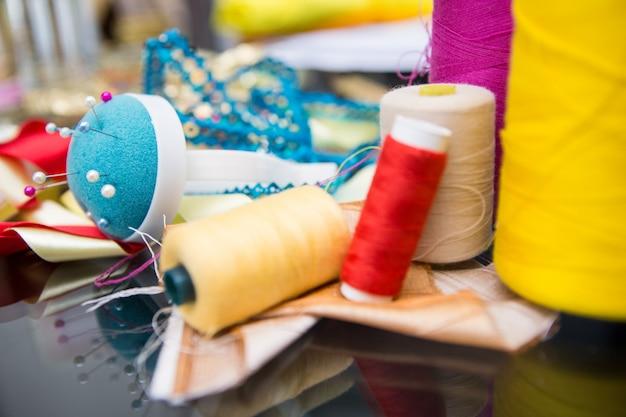 Mesa de designers de moda