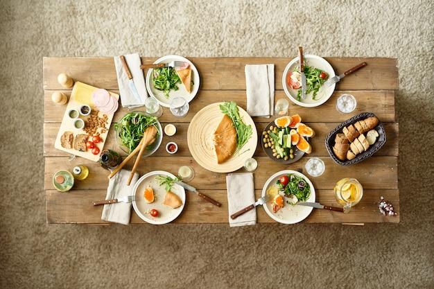 Mesa de jantar festiva