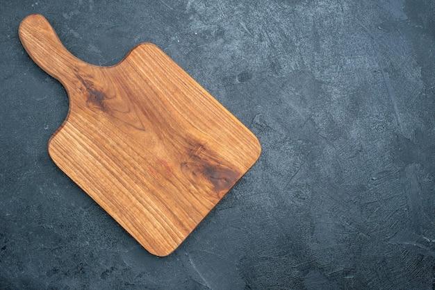Mesa de madeira marrom com vista superior