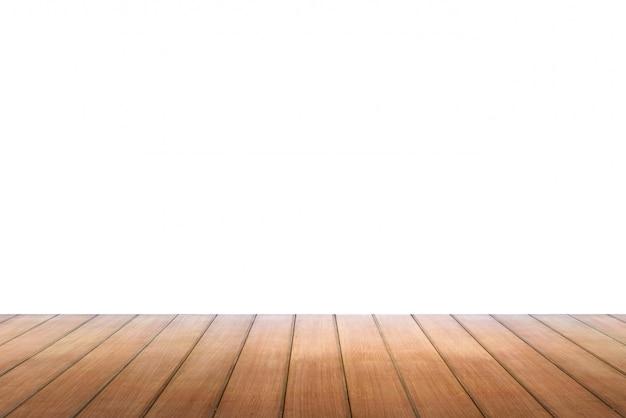 Mesa de madeira vazia, pode ser usado para exibição ou montagem de seus produtos