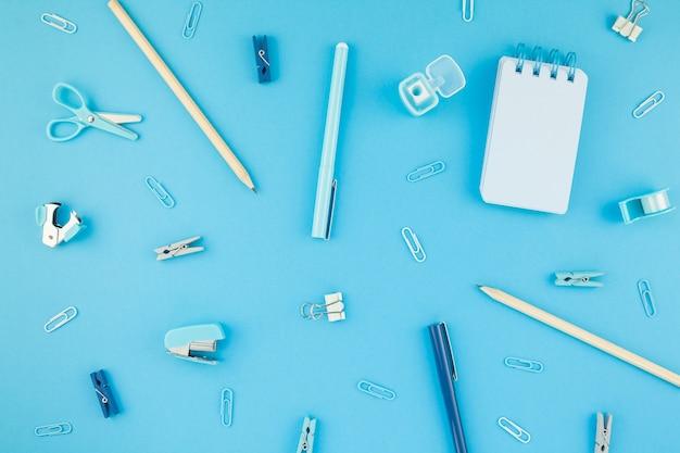 Mesa de trabalho design de estilo de material de escritório