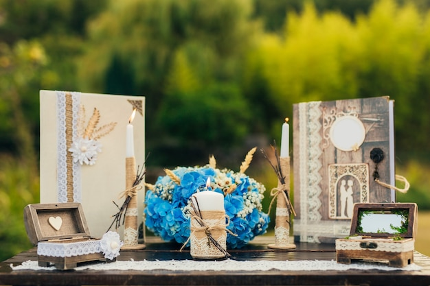 Mesa para cerimônia de casamento em montenegro