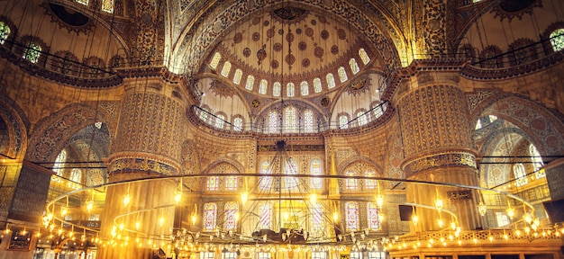 Mesquita azul sultan ahmet cami