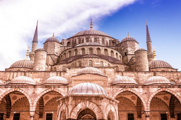 Mesquita azul sultan ahmet camii