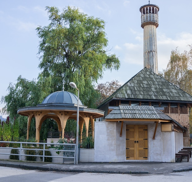 Mesquita com fonte