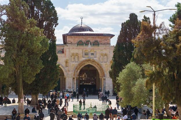 Mesquita de al-aqsa, cidade velha de jerusalém, palestina
