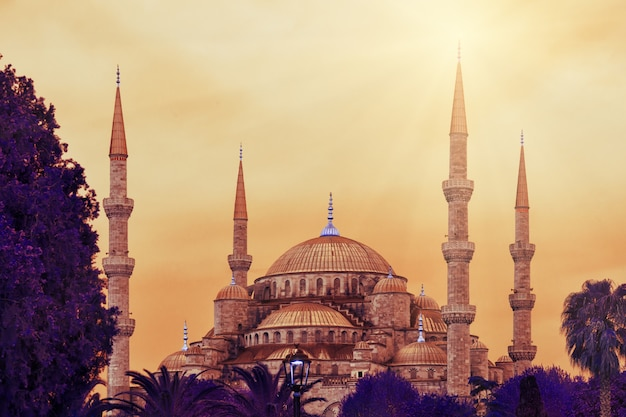 Mesquita do sultão ahmed ou mesquita azul