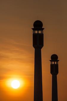 Mesquita na tailândia