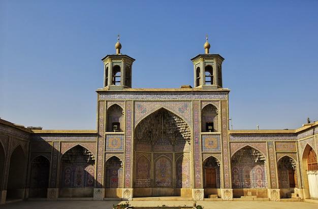 Mesquita nasir-ol-molk em shiraz, irã